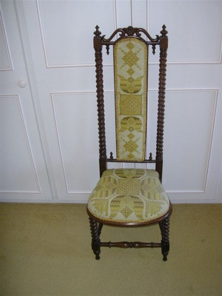 Chair repair and upholstery