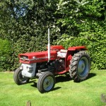 Antique restoration Surrey, restoring Massey Ferguson tractors!