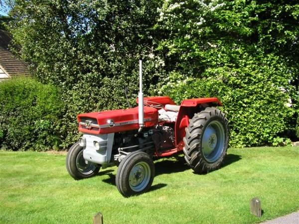 Tractor restoration Surrey