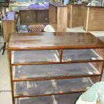 Repair of stains, blemishes and marks on antique furniture