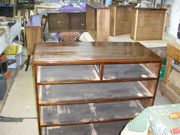 repair of stains blemishes and marks on antique furniture