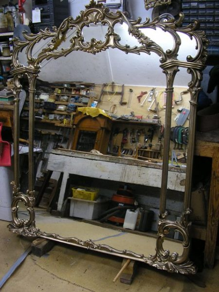 Repairs to ornate picture frames