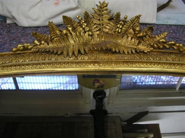 Mirror restoration in Dorking
