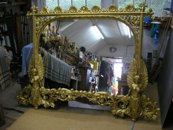 Mirror Frame Repairs Around Woking By Snelling Associates