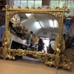 Mirror and picture frame restoration around London