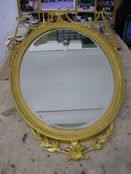 Mirror frame repairs London