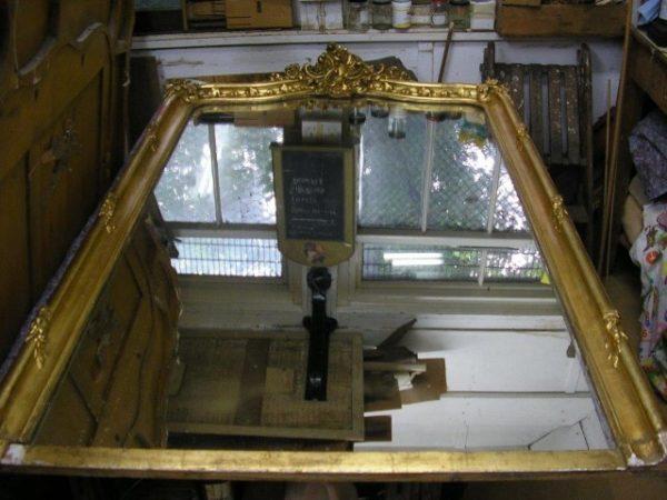 Mirror Frame Restoration In Surrey By Snelling Associates